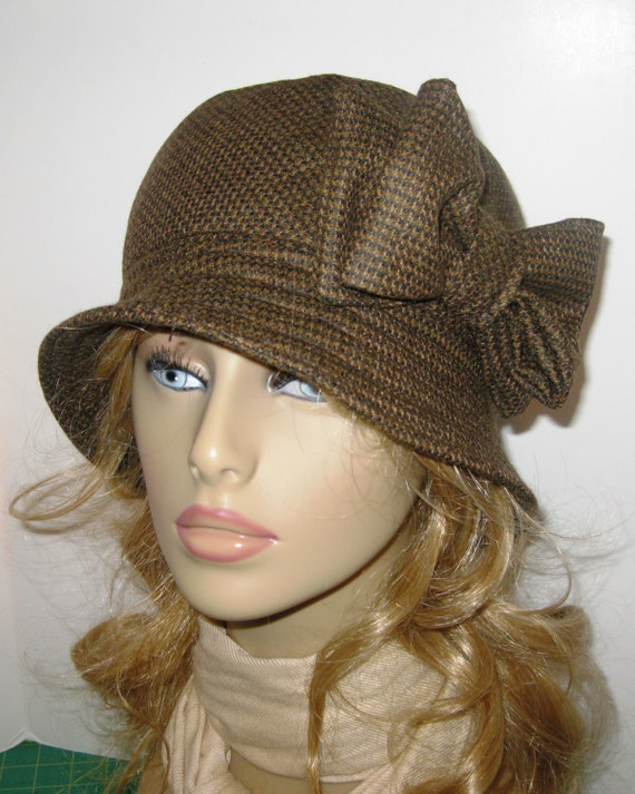 Womens Brown Winter Hat