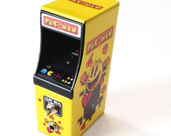 Portable Amp and Speaker for MP3 Player -Pac Man geek gift