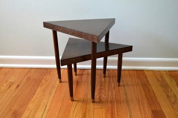 Vintage Nesting Tables Mid Century Modern Furniture 1960s