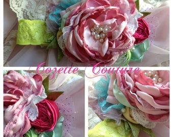 Spring Jewel by Cozette Couture made to match Spring Matilda Jane 2013 Good Heart