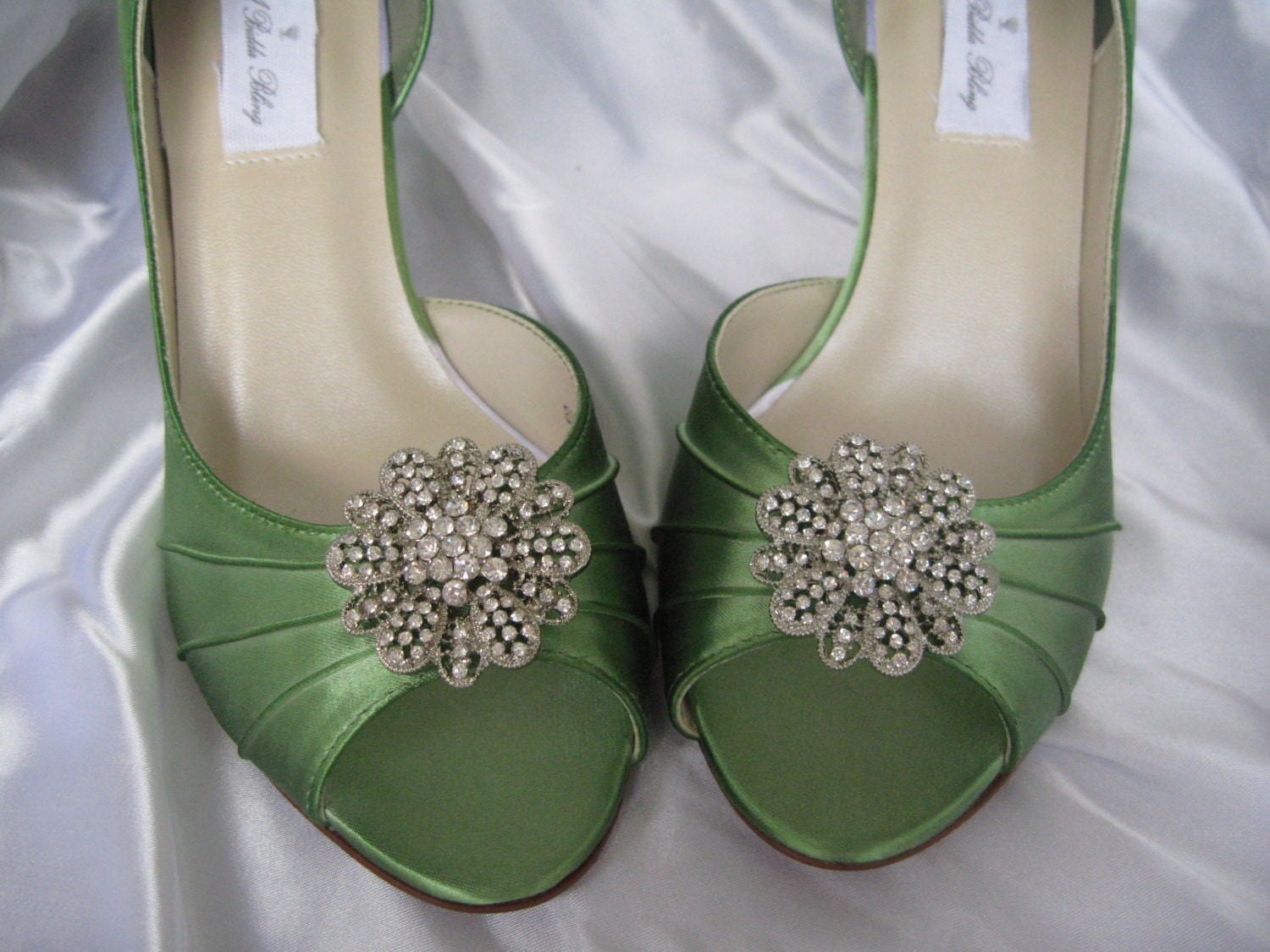 ... Apple Green Bridal Shoes ...