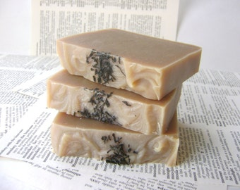 Black Tea Soap, Cold Process Soap Bar