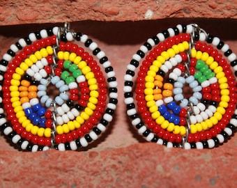 New African Handmade Tribal Maasai Earrings