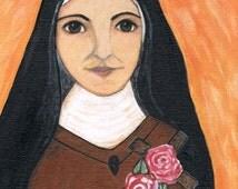 French Catholic Saint Therese Relgious Art Print