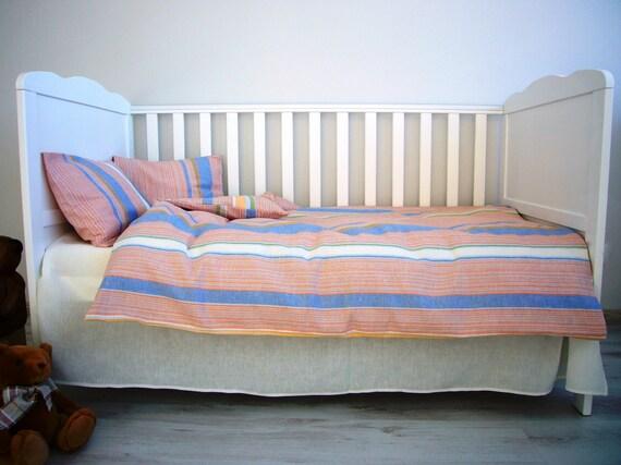 Toddler Bed Set Dreamy Linen Bedding Baby Amp Toddler Linens