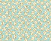 Riley Blake Designs Paisley in Aqua Stitch Studios Calliope One Yard
