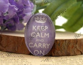 10x14mm,13x18mm,18x25mm,20x30mm,30x40mm Oval Glass Cabochons, jewelry Cabochons finding beads,keep calm and carry on