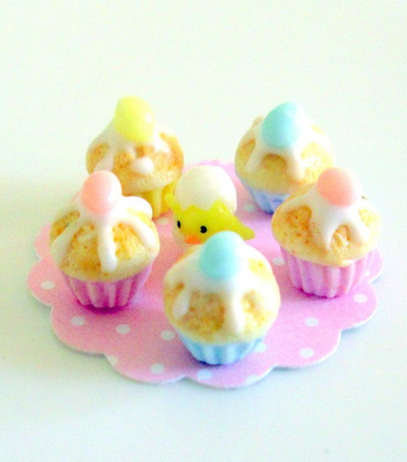 "Easter Egg Cupcakes With ""Yolk"" Centers Recipes — Dishmaps"