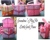 Grandma's Play set Purse and Accessories Embroidery Machine Project