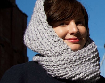 Knitting Pattern Infinity Scarf - Easy/Intermediate