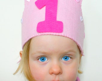 Handmade Personalized Felt Crown