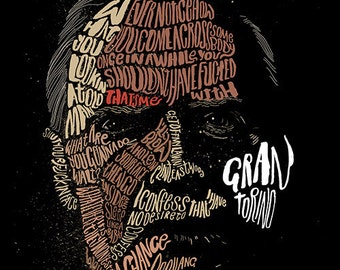 Gran Torino film print