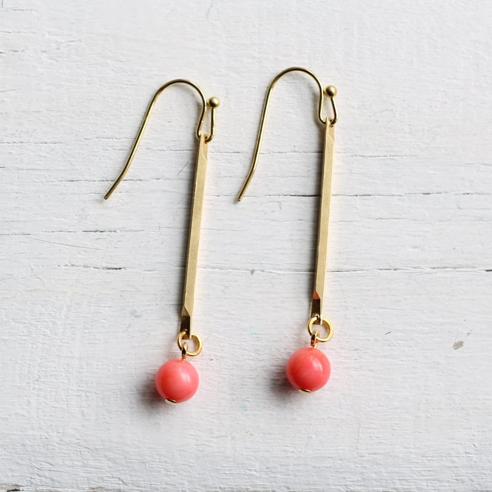 Coral Stick Earrings  Vintage Brass Stick With Flamingo. Thick Chains. Shop Chains. Mugappu Chains. Jen Chains. Contemporary Chains. India Pendant Chains. Madrasi Chains. Thanga Chains