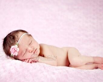 Baby headband, newborn headband, adult headband, child headband and photography prop The single sprinkled- Sara  headband