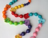 Collection Summer Fiesta - Multicolor Crocheted Necklace