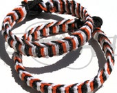 Oklahoma State University Cowboys 550 Paracord Survival Strap Bracelet Anklet w knot and loop closure