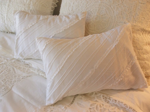 Items similar to shabby chic pillow sham on Etsy