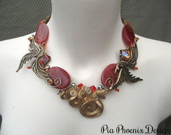 Mystical Phoenix Necklace
