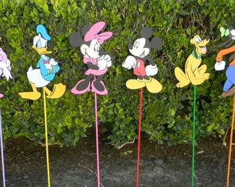 Mickey's Clubhouse Party Yard Signs