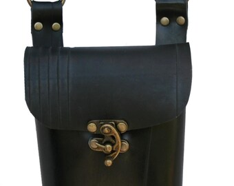 Small Shoulderbag in recycle rubber