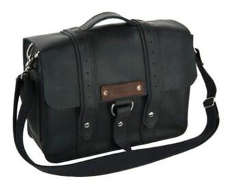 """14"""" Black Newtown Voyager Laptop Bag - 14-V-BL-LAP"""