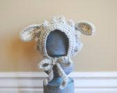 Sweet Spring Lamb Bonnet