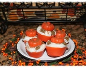 BEST SELLER -Pumpkin Raisin Royale Primitive Grubby Pumpkin Cupcake Scented Wax Tarts Melts