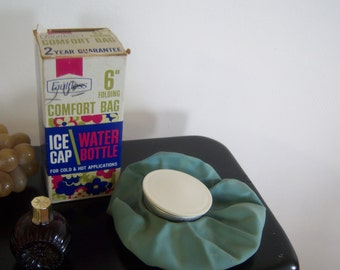 Vintage Ice Cap Hot Water Cold Ice Pak Original Package