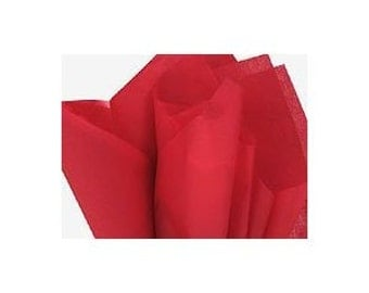 120 sheets of tissue paper -- RED