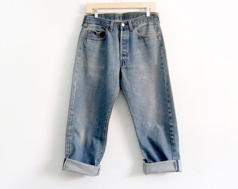 1970s red line 501 Levi's jeans, waist 32
