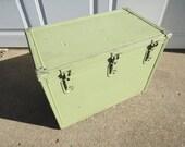 Vintage Industrial Storage Box.