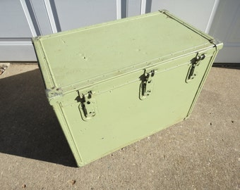 Vintage Industrial Storage Box.