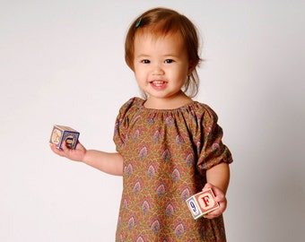 ON CLEARANCE Vineyard Dress Sizes 6 Months - 6Y Available