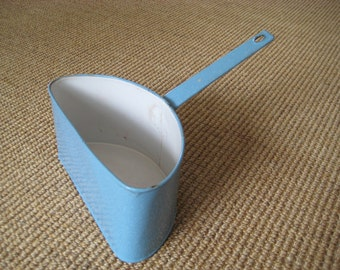 Blue Enamel Split Pot Pan