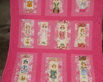 "Baby Quilt entitled ""Sunday Afternoon"""