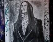 Original artwork pen on paper, Dark Lord