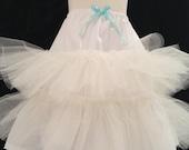 Custom Crinoline Petticoat skirt for your princess dress