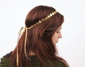 Gold Star Headband - Gold Star Crown, Birthday Crown, Star Hair Piece, Gold Star Tiara, Star Headband, Gold, Star Headband,