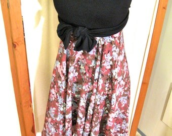 CUSTOM circle skirt, but never say JUST A SKIRT