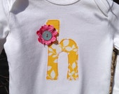 Initial Onesie - made to order