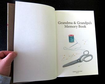 Grandparent's Memory Book (Journal and Album)