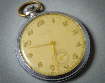 Antique pocket  watch for movement, watch parts, watch case, Swiss made Arlon
