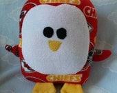 Plush Kansas City Chiefs Penguin Pillow Pal, Baby Safe, Machine Washable