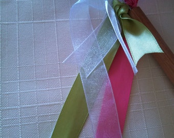 Wedding Ribbon Wands - choose your colors