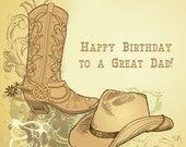 Cowboy Birthday Wishes