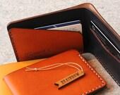 Bi-Fold Hand Stitched Slim Wallet