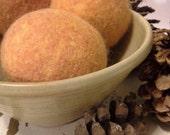 Dryer Balls, set of 6  Marigold Free Shipping To USA