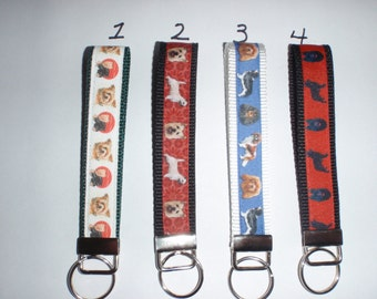 Dog Breed Key Fobs