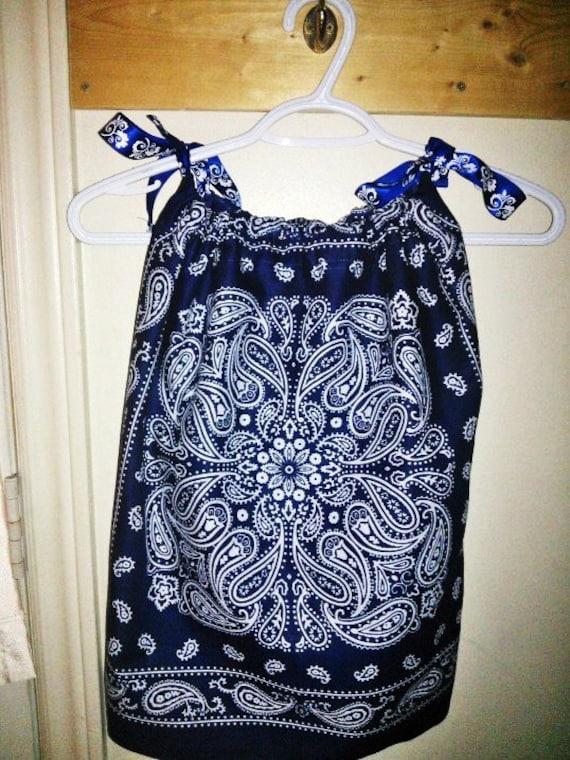 Bandana Dress Bandana Tank Top From Toddler To Ladies