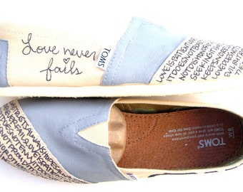 The Micah - Gray and Cream TOMS